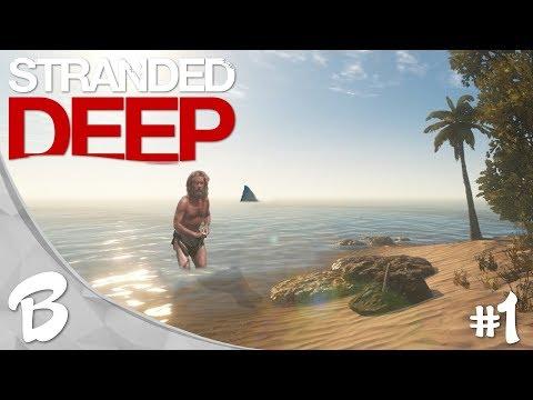 CONSTRUYENDO MI CASA | Stranded Deep #1 | TheHachaDroid