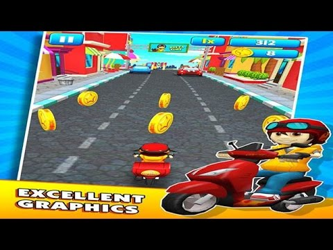 Subway Scooters - Run Run : CRAZY SCOOTERS - APk Android Game - Ultra 4K HD Graphics