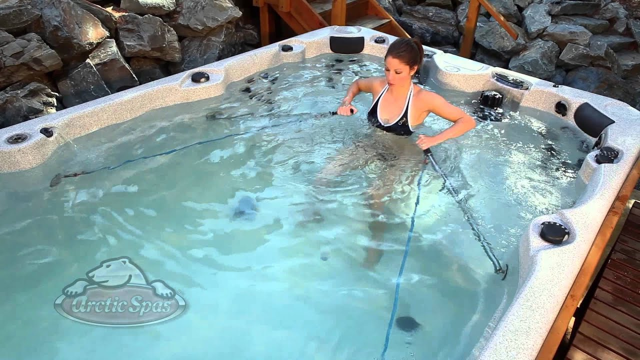 spa de nage modele ocean par arctic spas youtube. Black Bedroom Furniture Sets. Home Design Ideas