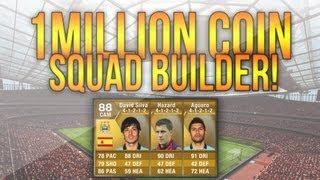 One of Jack54HD's most viewed videos: FIFA 13 Ultimate Team | 1,000,000 Coin Squad Builder! Ft. 90 Rated Player!