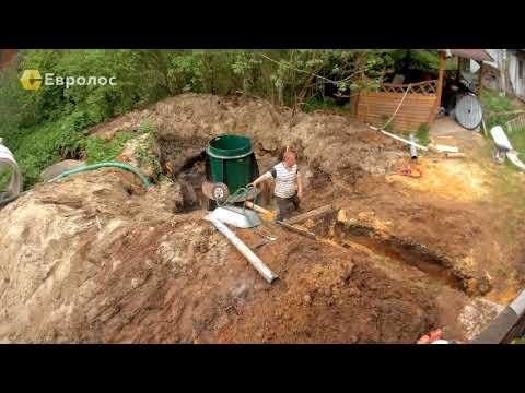 Монтаж очистных сооружений в Быково