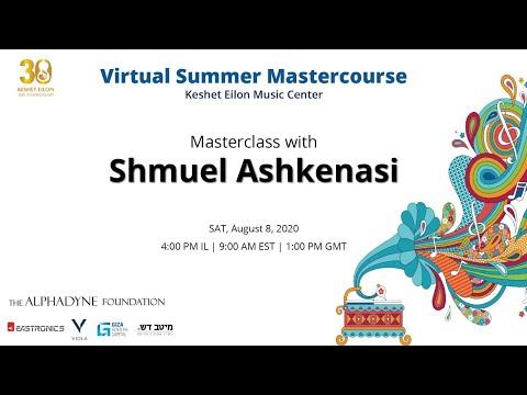 Masterclass with Shmuel