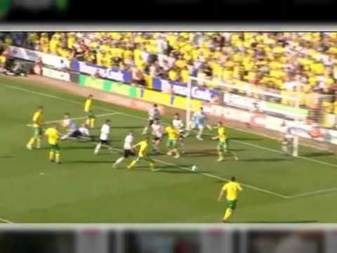 Norwich 3 Derby 2 - Jacksons 3rd goal sync'd with Radio Norfolk commentary