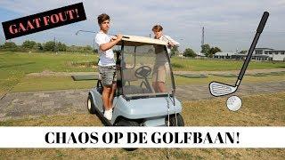 CHAOS OP DE GOLFBAAN! | Vincent Visser