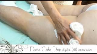 Depilação Costas - Dona Cida Depilação - (18) 3324-2397