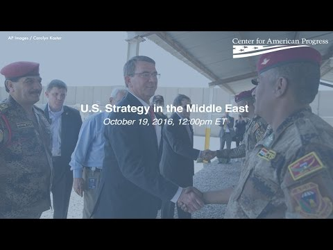 U.S. Strategy in the Middle East