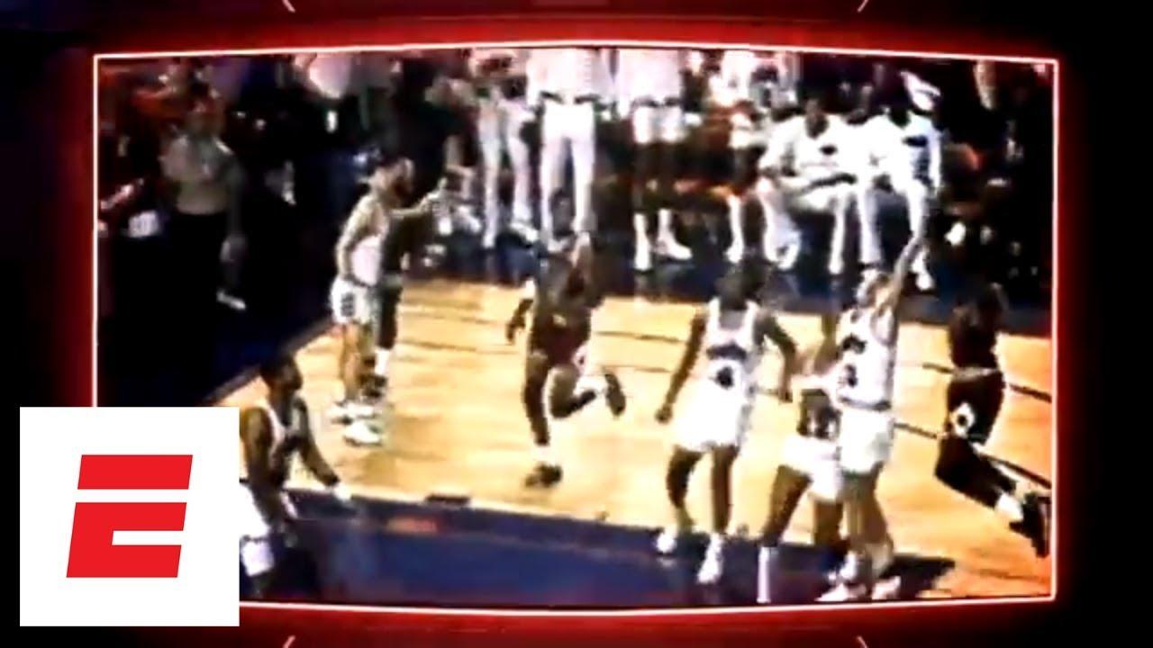 low priced b45e0 ca2d0 The Shot  Michael Jordan s legendary buzzer-beater vs. the Cavaliers   ESPN  Archives
