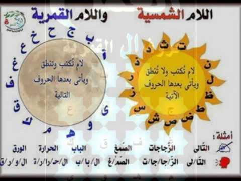 اللغة العربية اللام الشمسية
