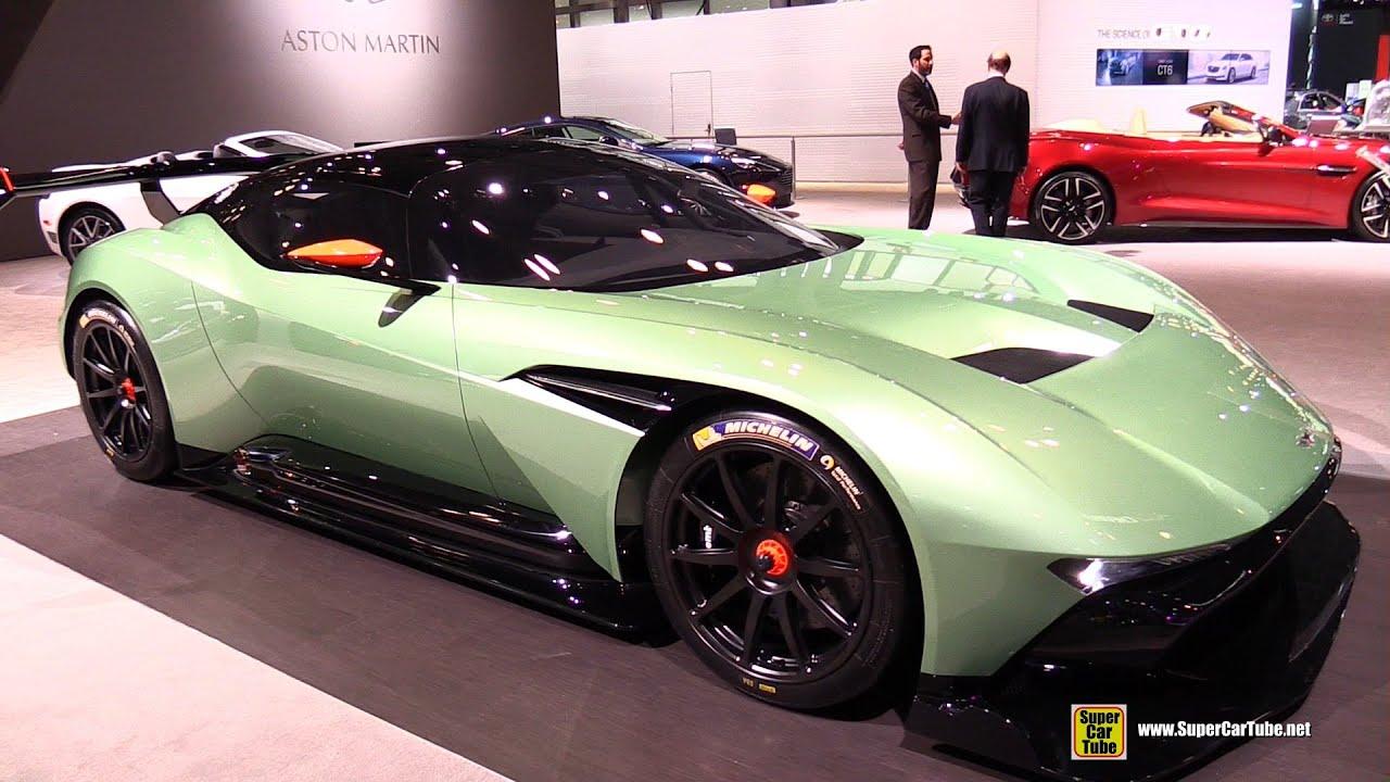 Aston Martin Vulcan Exterior Walkaround 2015 New York Auto Show Youtube