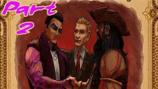 Saints Row Gat out of Hell Gameplay Walkthrough Part 2 - BlackBeard (PC)