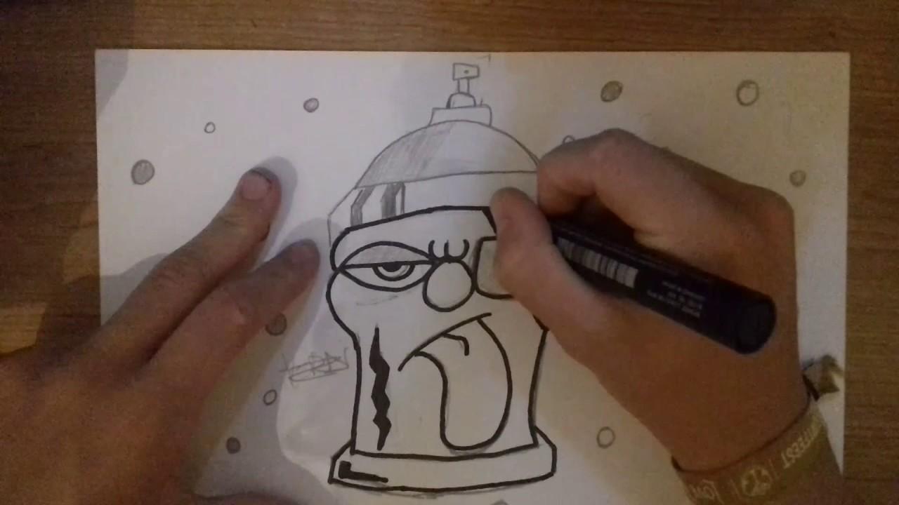 graffiti tekenen - youtube