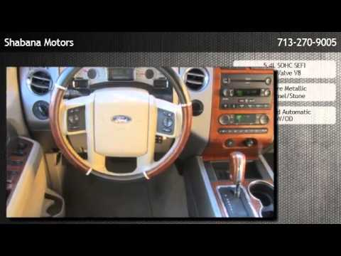 2007 Ford Expedition 2wd Eddie Bauer Houston Tx Youtube