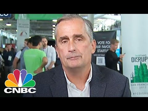 Artificial Intelligence In Its Infancy: Intel CEO Brian Krzanich | CNBC