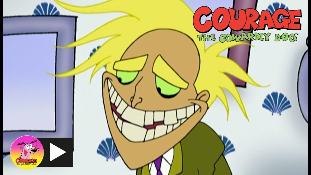 Courage The Cowardly Dog Freaky Fred Cartoon Network Youtube