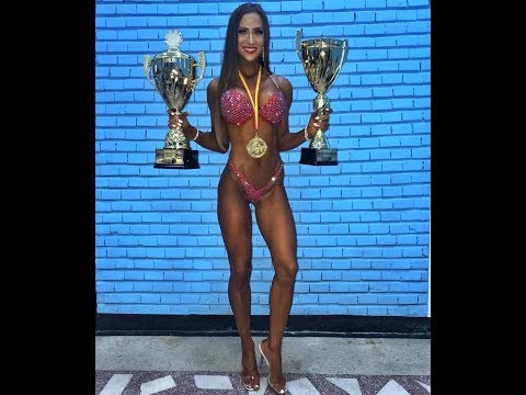 Slovakia Fitness Model Girls TIMEA TRAJTELOVA @ Workout Female Fitness & Gym Motivation