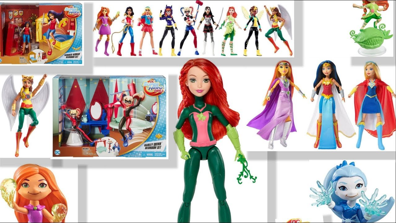 New From Dc Superhero Girls Toys 4 Coming Soon 2017 2018