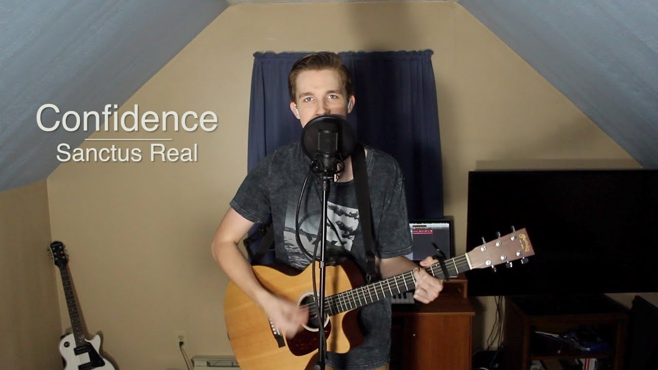 confidence sanctus real acoustic cover youtube