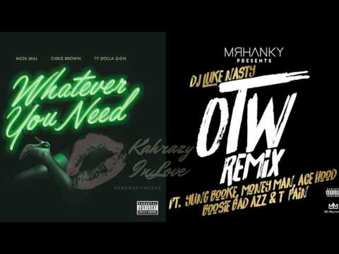 Meek Mill - Whatever You Need (Audio) Ft.  Chris Brown, DJ Luke Nasty, Ty Dolla Sign, and More