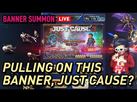 [FFBE] Just Cause 3 Banner Pulls for 2 Ricos? Maybe more? thumbnail