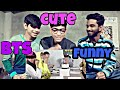 Indian boys react to BTS cute & funny moments