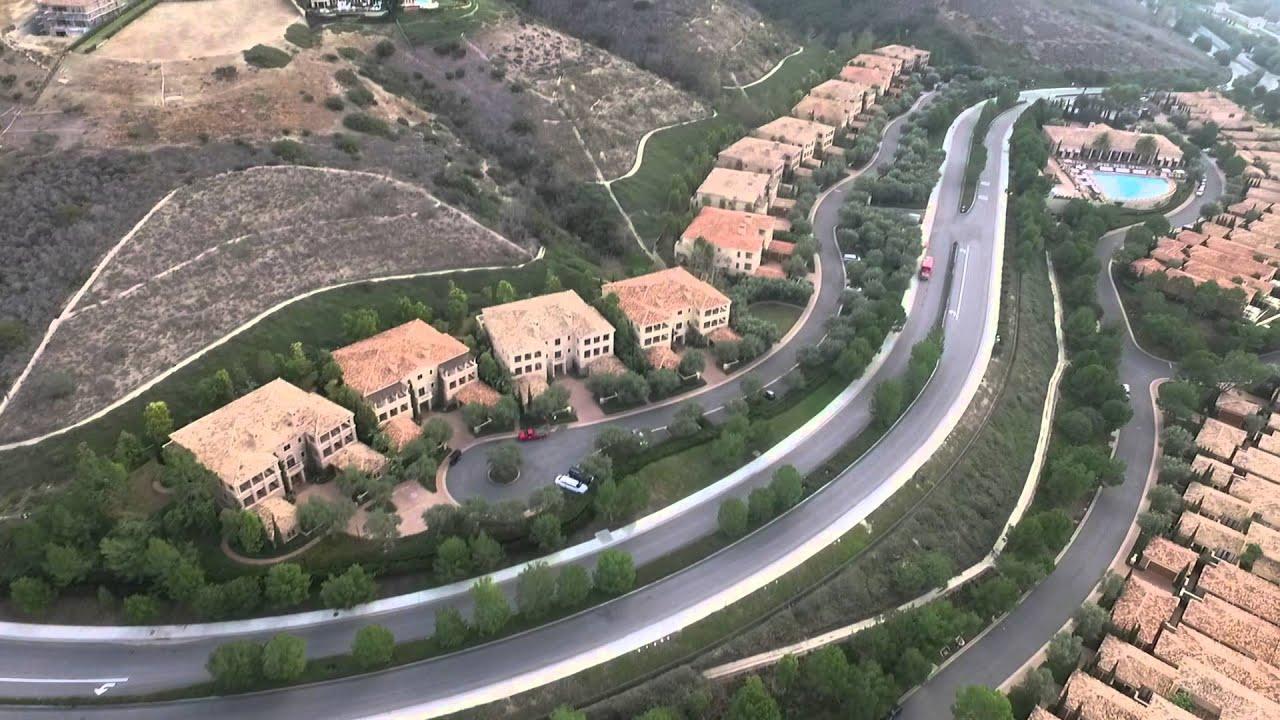 Flight Around Pelican Hill Villas And Newport Beach