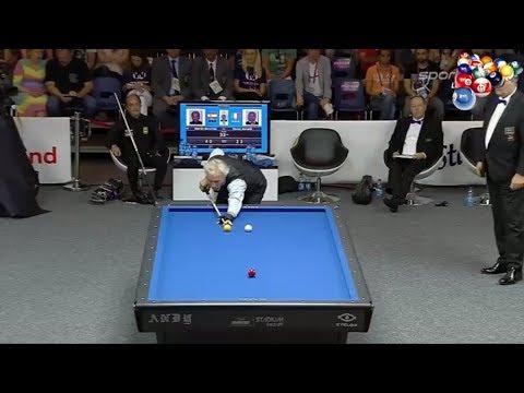 3 Cushion Billiard Marco Zanetti vs Daniel Sanchez Billar 2017 P.2