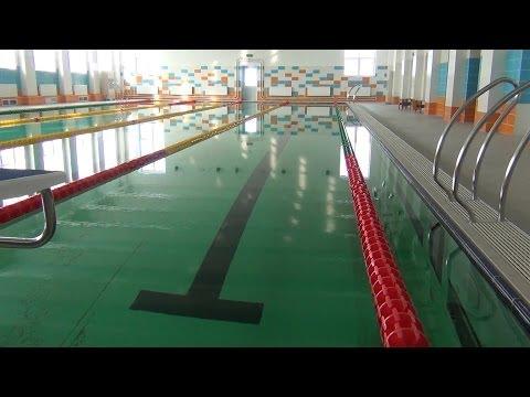 Плавательный бассейн «Дельфин» скоро начнет работать
