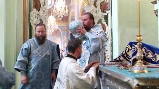 Иерейская хиротония  диакона Вячеслава Афонина епископом Ферапонтом, 21 июля 2016