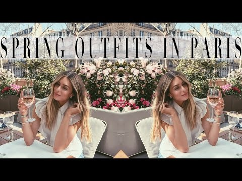 THREE SPRING OUTFITS IN PARIS    Lydia Elise Millen