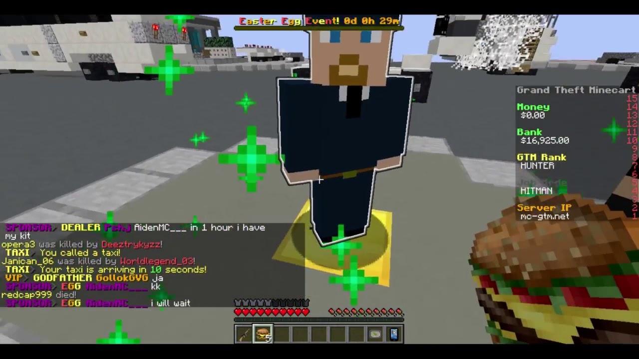 MC GTM Der HUNTER Rang Jetzt Können Wir Hitman Spielen YouTube - Minecraft server jetzt spielen