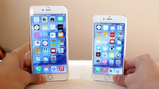 iPhone 6 vs iPнone 6 Plus Comparison