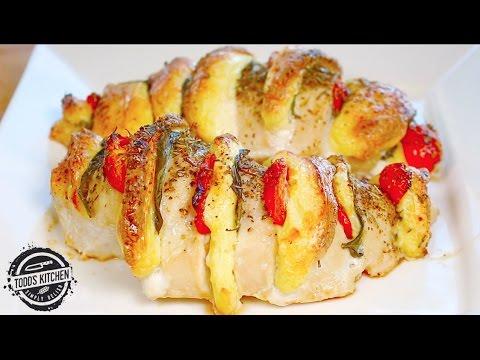 Mozzarella Stuffed Chicken Recipe - Home Made
