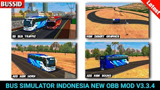 New Obb Bussid V3 3 4 New Graphics And Roads Obb For Bus Simulator Indonesia Mod Sourav Gaming Youtube