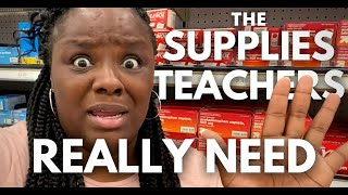 What Teachers Really Need to Survive the School Year