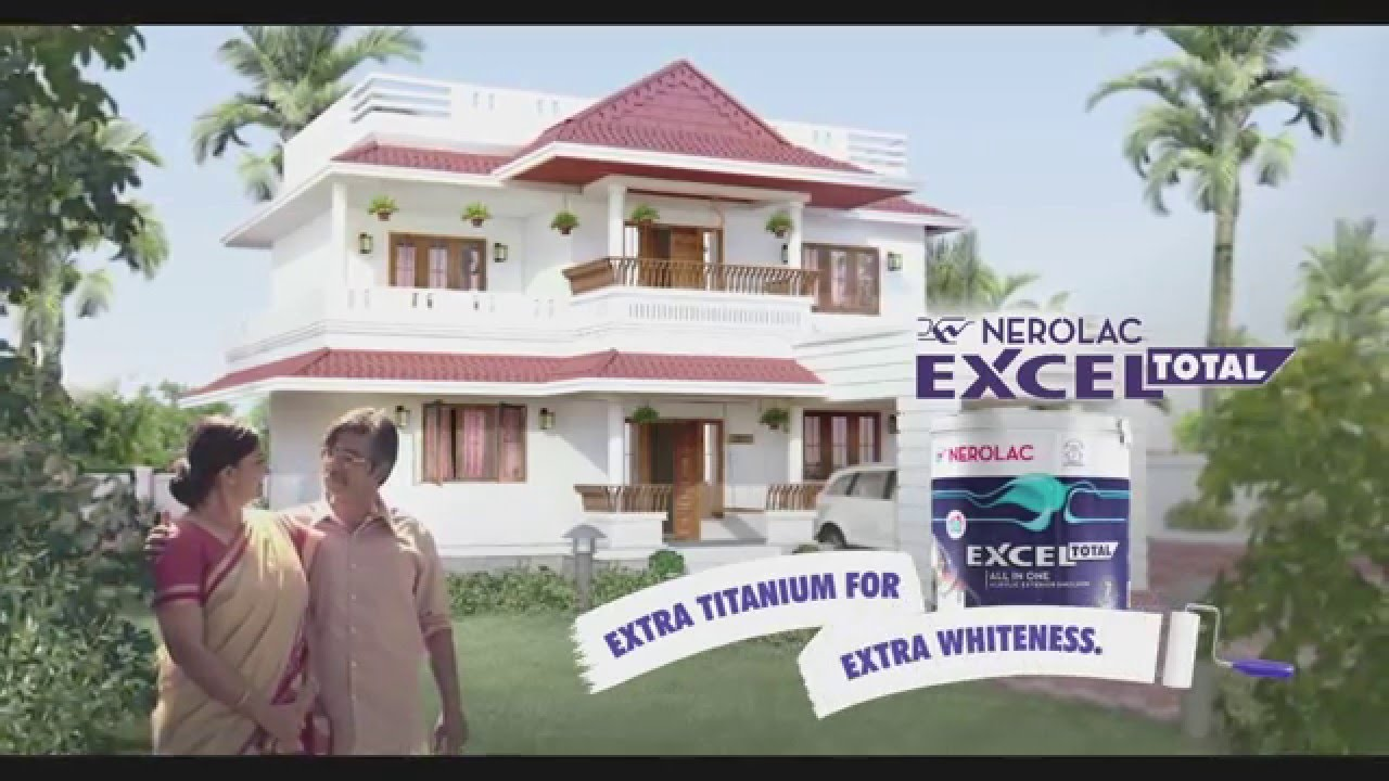 Nerolac Excel Total Tvc Malayalam Exterior Paint Colors Youtube