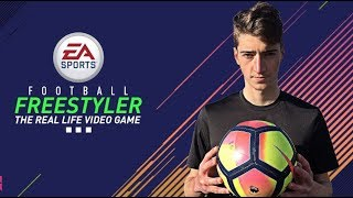 FOOTBALL FREESTYLER | Real Life Video Game 2018