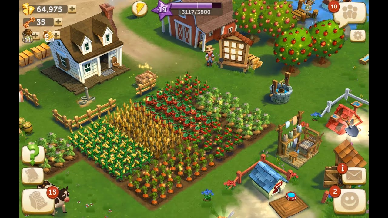 Farmville 2 country escape level 19 update 3 hd 1080p youtube for Form ville