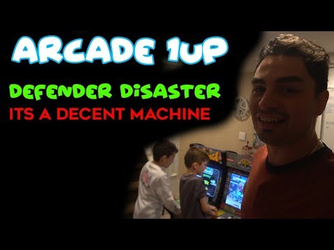 Repeat Arcade 1up Rampage Cabinet - Defender Disaster by