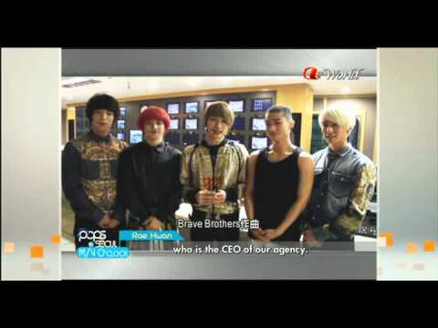 [Arirang TV] 120823 MV O'clock Big Star interview @ Pops in Seoul