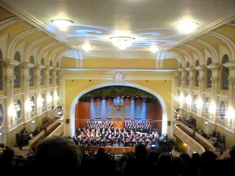 Большой зал Консерватории Московская государственная