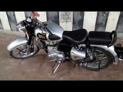 Royal Enfield Classic 350 genuine review. Top speed & Real Milage. Check link stay safe .