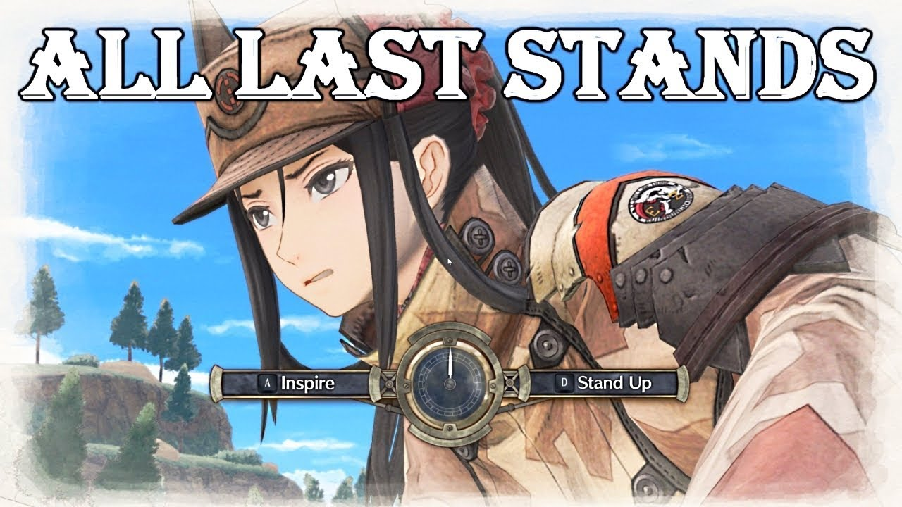 Valkyria Chronicles 4 - All Last Stand Quotes (60FPS)
