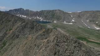 Grizzly Lake and Pomeroy Lake, Colorado. 7/16/2016