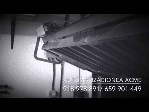 Automatizar puerta basculante youtube for Basculante youtube