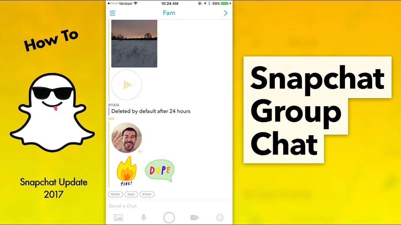 Wie starte ich eine Konversation mit Snapchat?