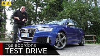 Audi RS3 | Test drive #AMboxing