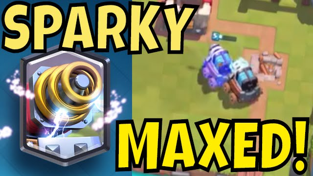sparky maxed strategy gameplay and tips for clash