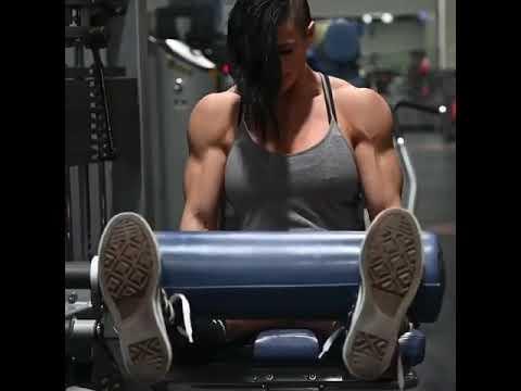 💪Kristan nun leg workout videos status full screen 💪💯 Fitness motivation woman bodybuilder#shorts