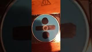 Unboxing Ed Sheeran divide (deluxe)