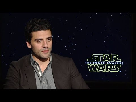 Oscar Isaac - Star Wars: The Force Awakens Interview (HD)